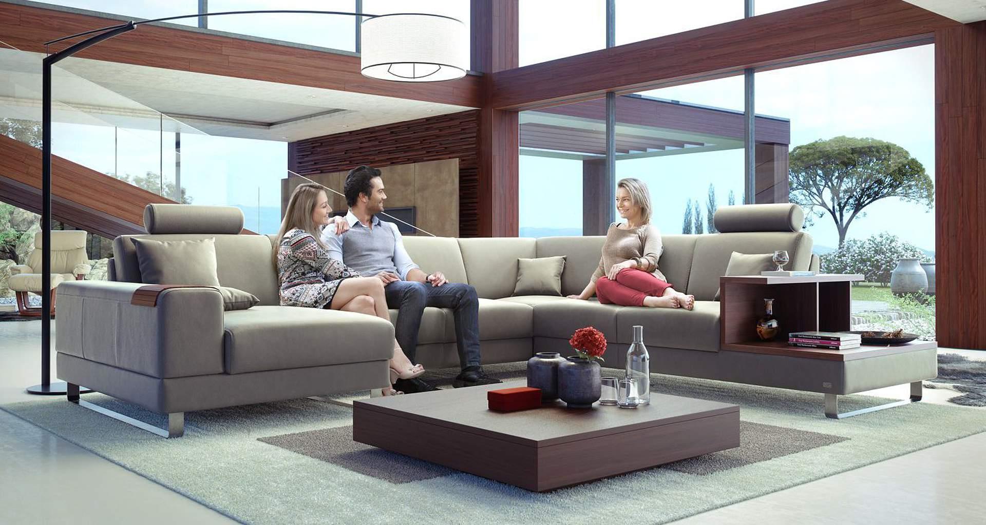 Prodej nábytku renomovaných značek a bytové poradenství