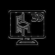 Návrhy nábytku 3D